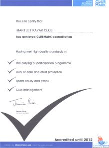 MKC Club Mark certificate